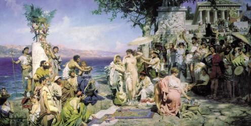 Genrich_Ippolitovich_Semiradsky_-_Roma,_1889 elusinian mysteries
