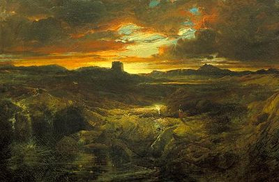 Childe Roland to the Dark Tower Came, Thomas Moranin 1859.