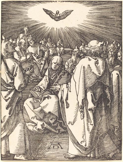 Albrecht_Dürer_-_Pentecost_(NGA_1943.3.3667)
